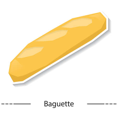 crisp: baguette Illustration