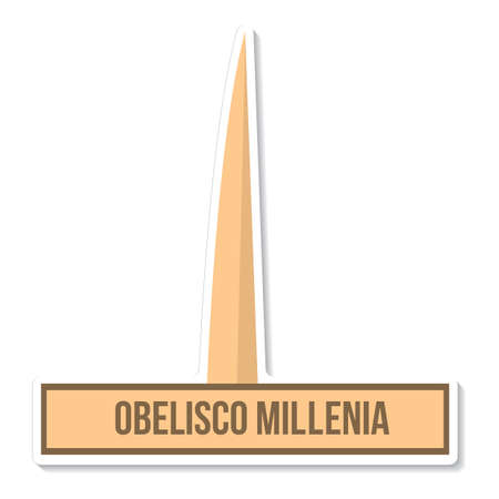 obelisco: obelisco millenia Illustration