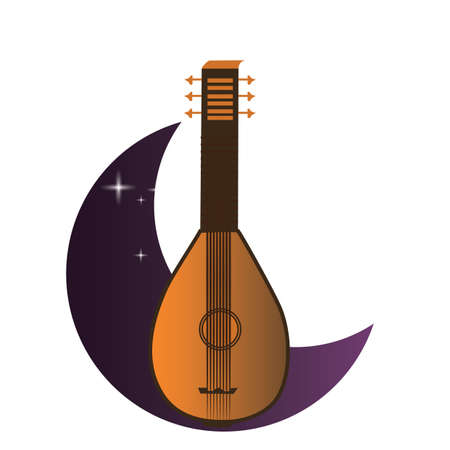 lute: lute Illustration