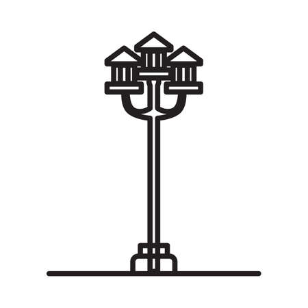 lamp post: lamp post Illustration
