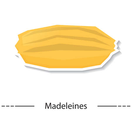 buttery: madeleines