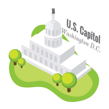 the capitol: us capitol Illustration