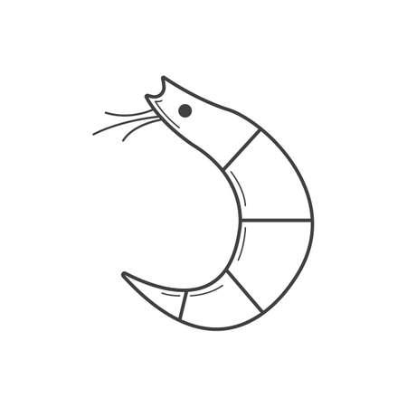 lightweight: shrimp Illustration