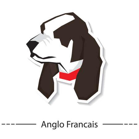 francais: anglo francais Illustration