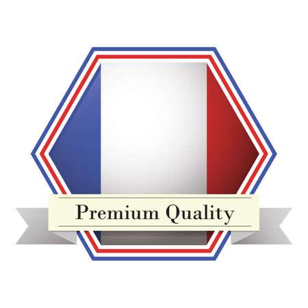 premium quality: premium quality label