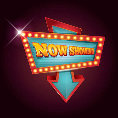showing: now showing marquee