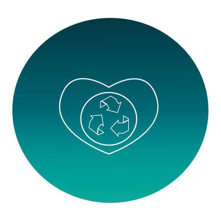 basic care: recycle Illustration