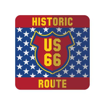 historic: historic us route 66