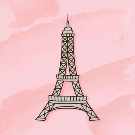 tourist attraction: eiffel tower