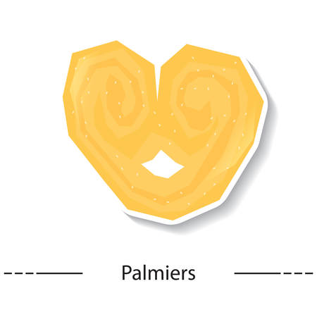 french cuisine: palmiers