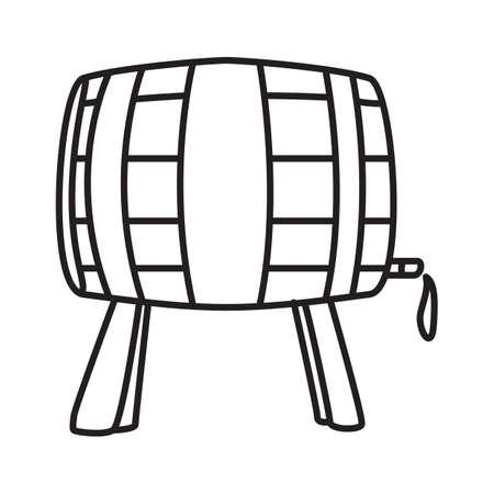 lightweight: wine barrel