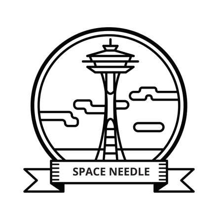 space needle: space needle