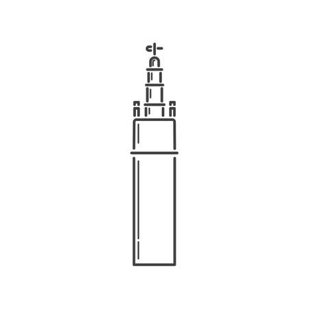 hercules: tower of hercules Illustration