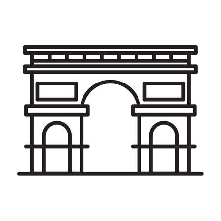 594 Arc De Triomphe Stock Vector Illustration And Royalty Free Arc ...