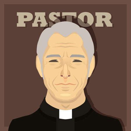 pastor: pastor Illustration