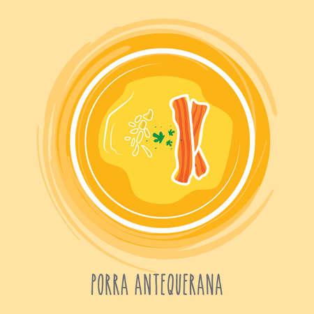 spanish food: porra antequerana