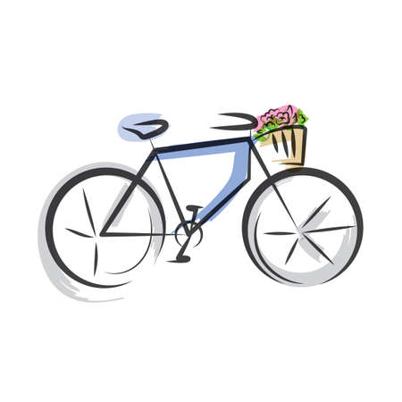 pedals: bicycle Illustration
