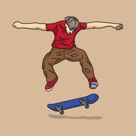 skateboard boy: teenage boy with skateboard