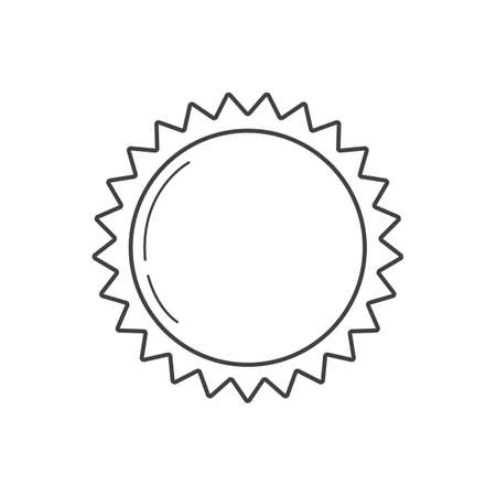 lightweight: sun Illustration