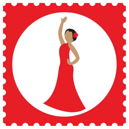 danseuse de flamenco: Flamenco