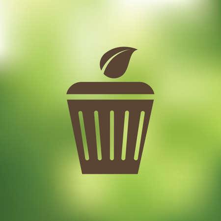 trash bin: trash bin