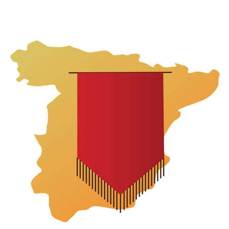 pennant: spain map and pennant