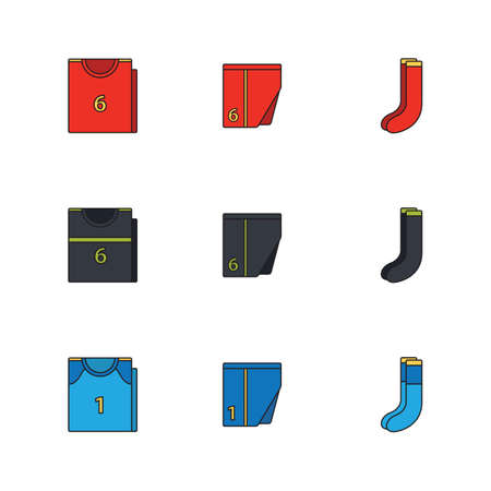 menswear: spain soccer clothing set