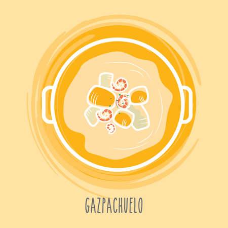 spanish food: gazpachuelo
