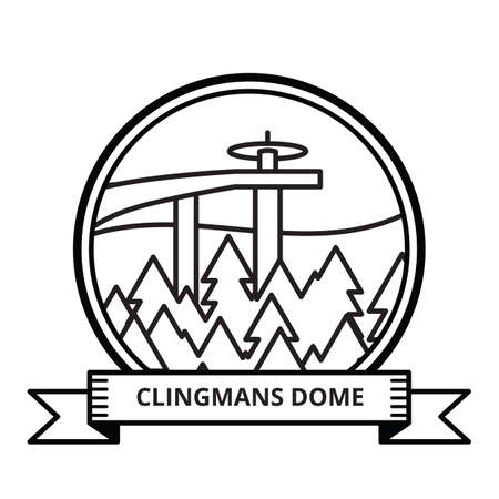 dome: clingmans dome Illustration