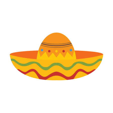 party wear: sombrero hat Illustration