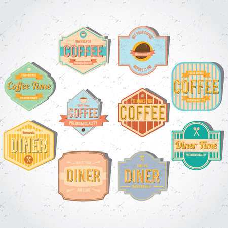 fresh brewed: collection of store sign