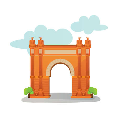 triumphal: arc de triomf Illustration