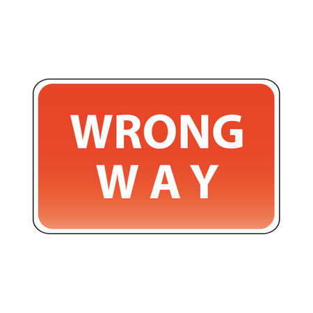 in a way: wrong way