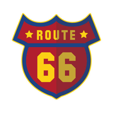 roadsigns: route 66