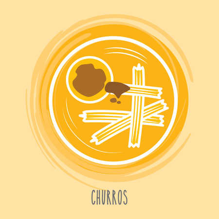churros: churros Illustration