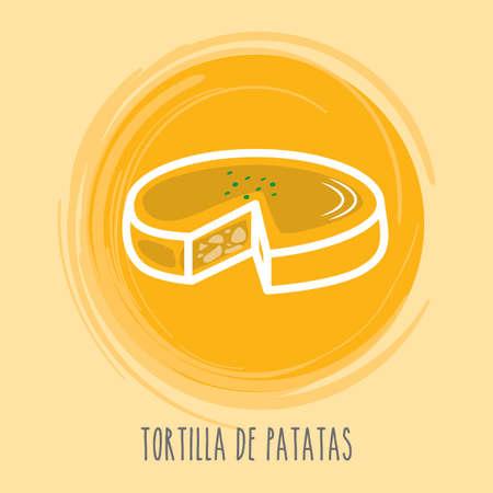main course: tortilla de patatas