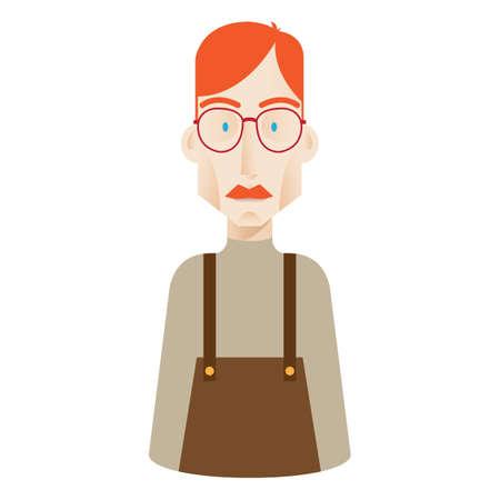 odd jobs: geek man
