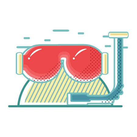snorkel: snorkel Illustration