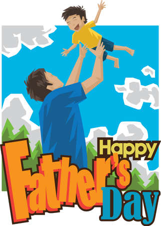 tossing: happy fathers day