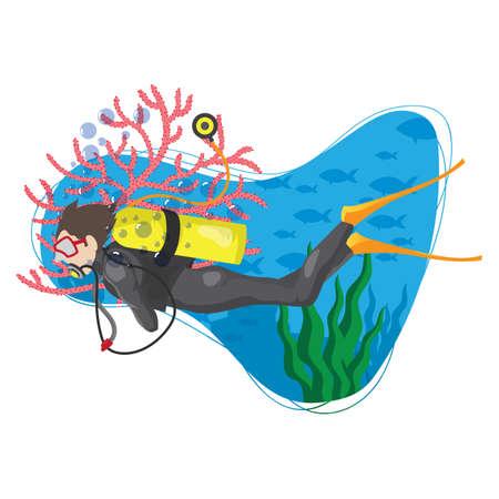 scuba: scuba diver