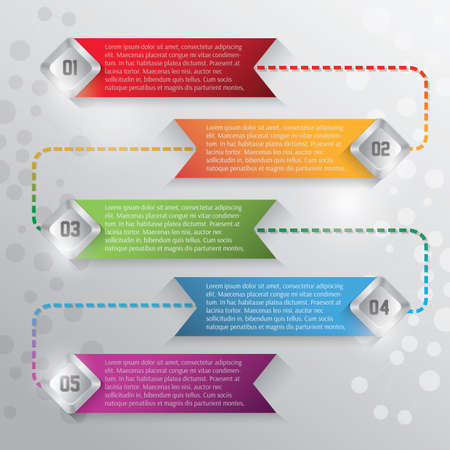 03: abstract infographic background