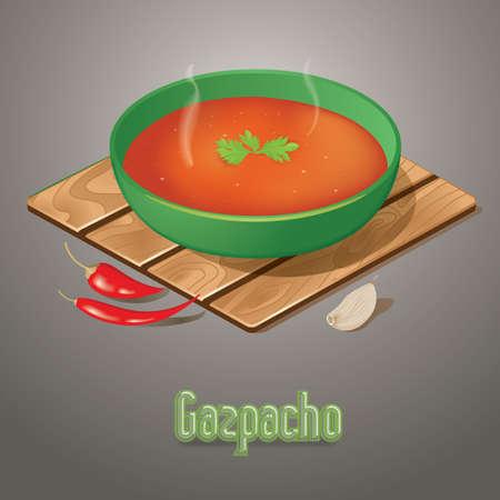 spanish food: gazpacho