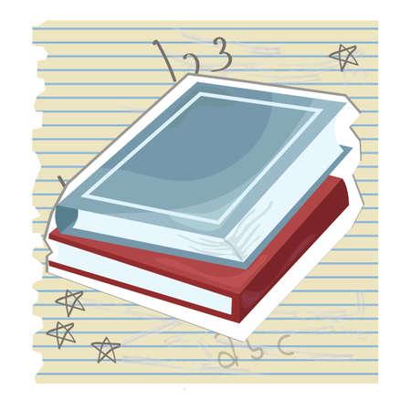 ruled paper: books