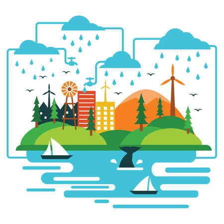 water cycle: water cycle