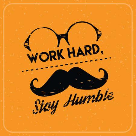 hardwork: motivational quote Illustration