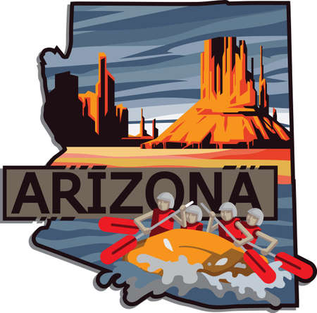 arizona Ilustrace