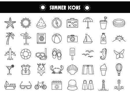 suntan lotion: summer icons
