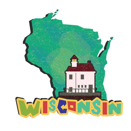 wisconsin state: wisconsin state map