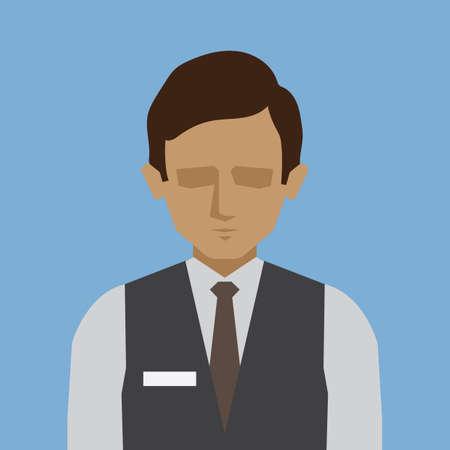 hospitality staff: waiter