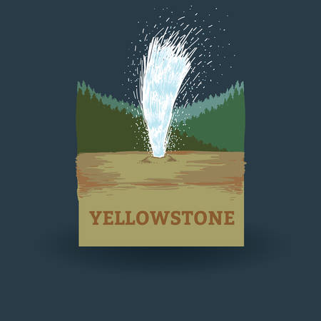national parks: yellowstone